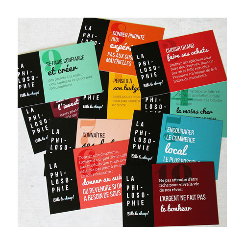 Cartes postales Philosophie Eille la cheap!